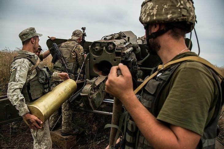 Обдолбанные наркотиками артиллеристы ВСУ готовы без выполнить любой преступный приказ своих командиров. Фото: facebook.com/pressjfo.news